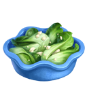 Steamed Bok Choy