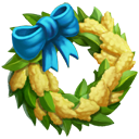 Cootamundra Wattle Wreath