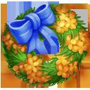 Orange Tea Olive Wreath
