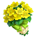 Marsh Marigold Bouquet
