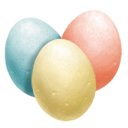 Colored egg