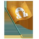 Brass Marking Flag