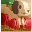 Ceramic Doggy Toy