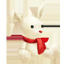Snow Bunny Plush