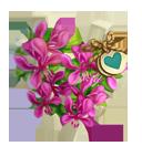 Heirloom Purple Orchid Trellis
