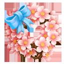 Okame Blossom Wreath